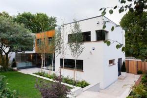 Frognal, London - Development by Active Management. Garden designed by KR Garden Design